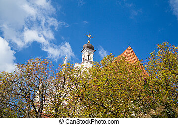 Church in Kazimierz Dolny, Poland