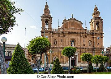 The Parish church of Saint Joseph in Msida, Malta