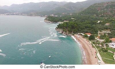 The park Milocer, Villa, beach Queen. Near the island of...