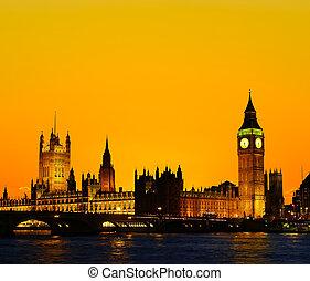 The Parliament Building - Big Ben