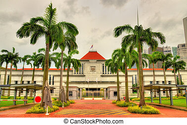 The Parliament House of Singapore