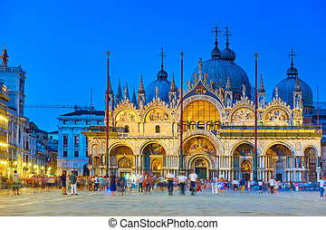 Cathedral Basilica of Saint Mark in Venice