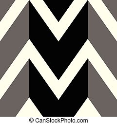 The pattern in which black and gray lines