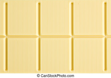 pattern of white chocolate