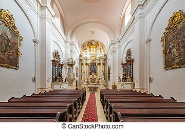The Pauline Church in Kezmarok. Paulinsky kostol v Kezmarku...