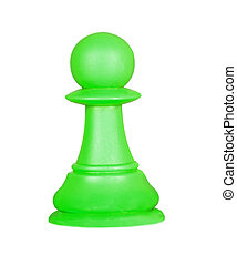 The pawn, chess piece