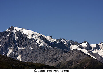 Ortler mountain group - the peaks of Ortler mountain group, ...