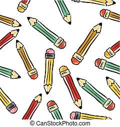 The pencils background