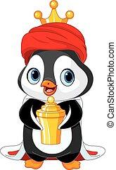 The Penguin as a Biblical Magi