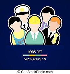 the people job set