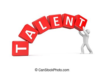 Build your own talents - metaphor