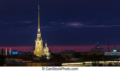 The Peter and Paul Fortress night timelapse is the original...
