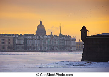 The Peter and Paul fortress on Hare