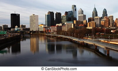 The Philadelphia city center