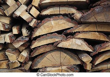 Cut the birch