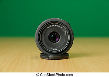The Photo Lens Front - Compact photo lens 40mm f2.8 pancake ...