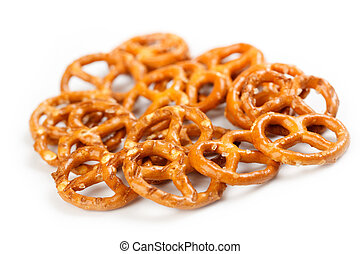 the photo shot of the salty snacks