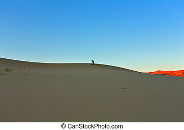 The photographer photographing Death valley