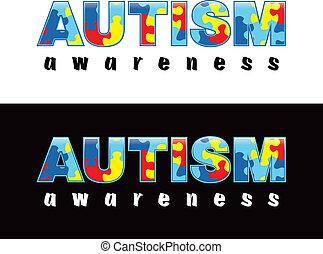 "Autism Awareness - The phrase ""Autism Awareness"" written in ..."