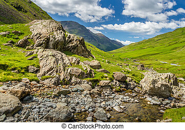 The picturesque lake District