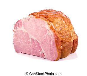 The piece of fresh ham