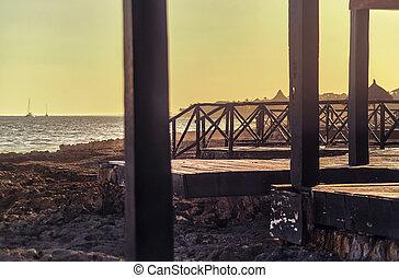 The pier of memories