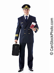 The pilot with the ticket - The pilot of a suitcase and a ...
