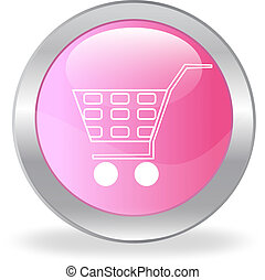 The pink button