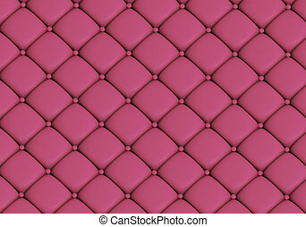 The pink leather texture