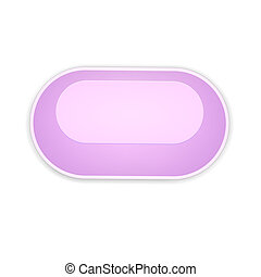 the pink oval button