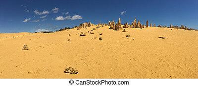 The pinnacles desert in Western Australia - The pinnacles ...