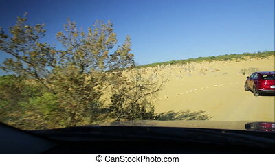 Pinnacles Drive loop - The Pinnacles Drive loop POV hyper...