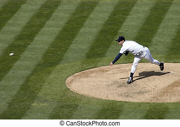 The Pitch - baseball pitcher