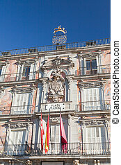 The Plaza Mayor (Main Square) in Madrid