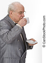 The pleasure of coffee