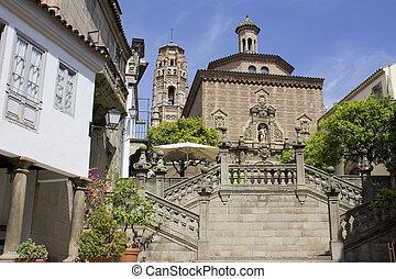 The Poble Espanyol. Spanish Town
