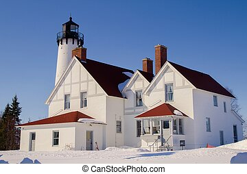 The Point Iroquois Lighthouse