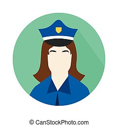 the police woman