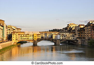 The Ponte Vecchio in Florence