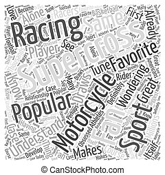 The Popularity of Supercross Motorcycle Racing Word Cloud...