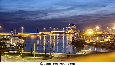 The port of Civitavecchia