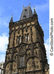 The Prague Powder Tower