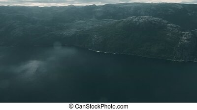 The Preikestolen, Norway - Graded and stabilized version....