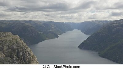 The Preikestolen, Norway - Native Material, straight out of...