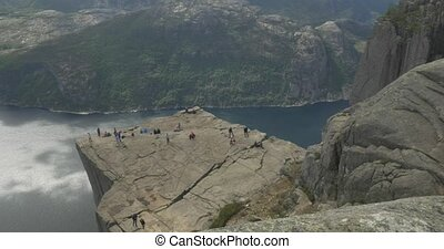 The Preikestolen, Norway - Untouched and stabilized...