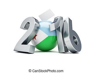 The presidential election in Djibouti