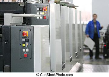 new printed machine - The printer at the new printed machine...
