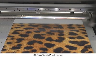 The printer - Large format printer