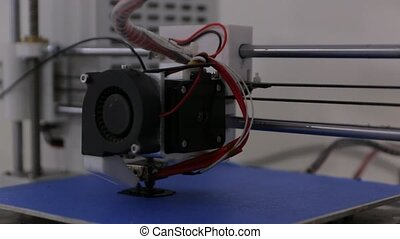 The Printer Printing 3D - The DIY 3d printer printing