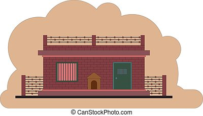The prison building. Protected object - The prison building...